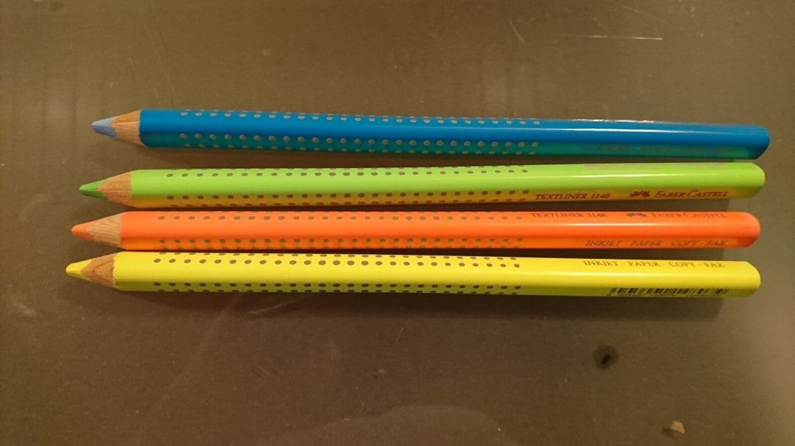 Faber Castell Textliner 1148 Textmarker Dry Markierstift Buntstift neonfarben