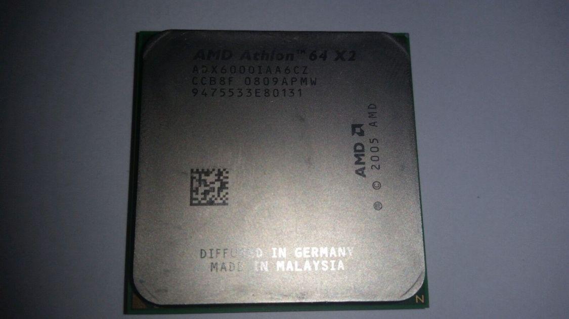 AMD Athlon 64 X2 6000+ - 3 GHz (ADX6000IAA6CZ) AM2 Prozessor + Wärmeleitpaste