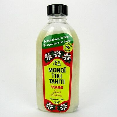 (9,13/100ml) Monoi Tiki Tahiti Körperöl Massageöl Tiare 120 ml