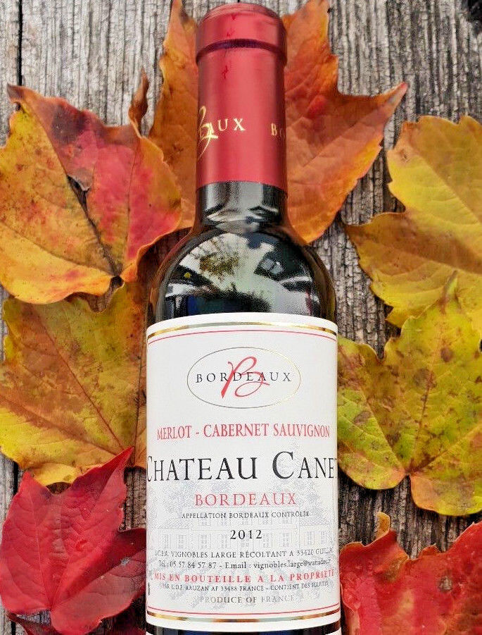 Neu!  6x375ml  Chateau Canet Bordeaux 2012 Merlot und Cabernet Sauvignon 🍇
