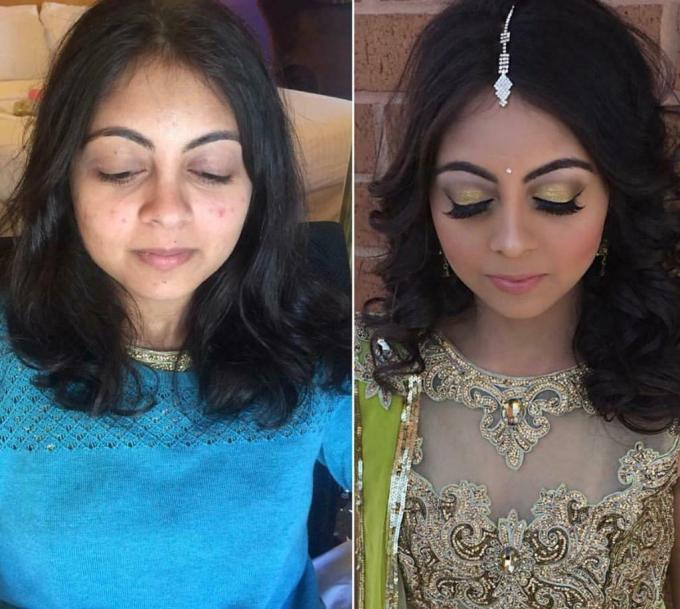 asian bridal makeup artist party makeup only £20 | in