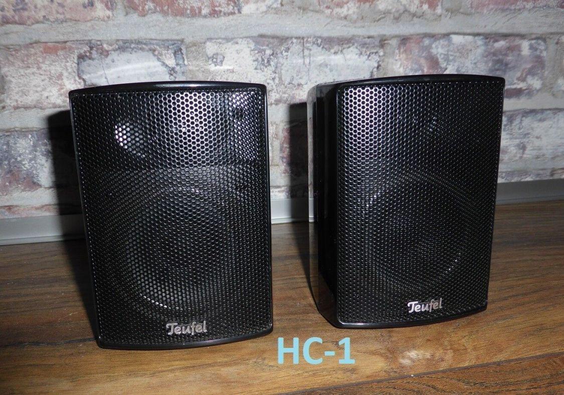 Ein Paar Teufel Satelliten-Lautsprecher K30FR in schwarz! Super Zustand!!
