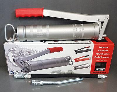 1 x Handhebelfettpresse Fettpresse Mato E500M Set für 400g Kartuschen #