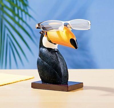 Brillenhalter Tucan Brillenablage Brillenhort Brillen Halter Brillenständer Etui