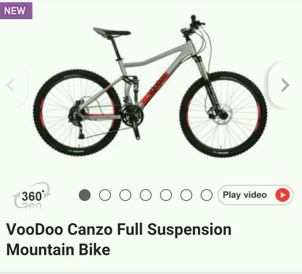 Voodoo Full Suspension Mountain Bike Downhill Bike Xc