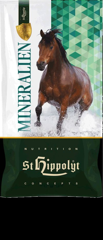 St.Hippolyt Sorbinum Mineral Pellets 25 kg Mineralfutter Pferd