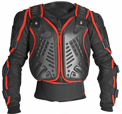 Diavolo Protektorjacke Brustpanzer Protektoren Motorrad Motocross Ski Hemd Jacke