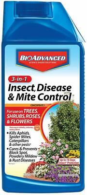 Bayer 701285B BioAdvanced 3-in-1 Insect Disease & Mite Control 32oz