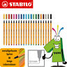 10 x Stabilo Point 88 Fineliner versch. Farben Schwan Point88 Tintenschreiber
