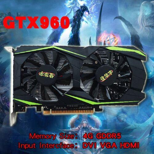 Graphics Card Grafikkarte For NVIDIA For GeForce GTX960 4GB DDR5 128Bit ViYE