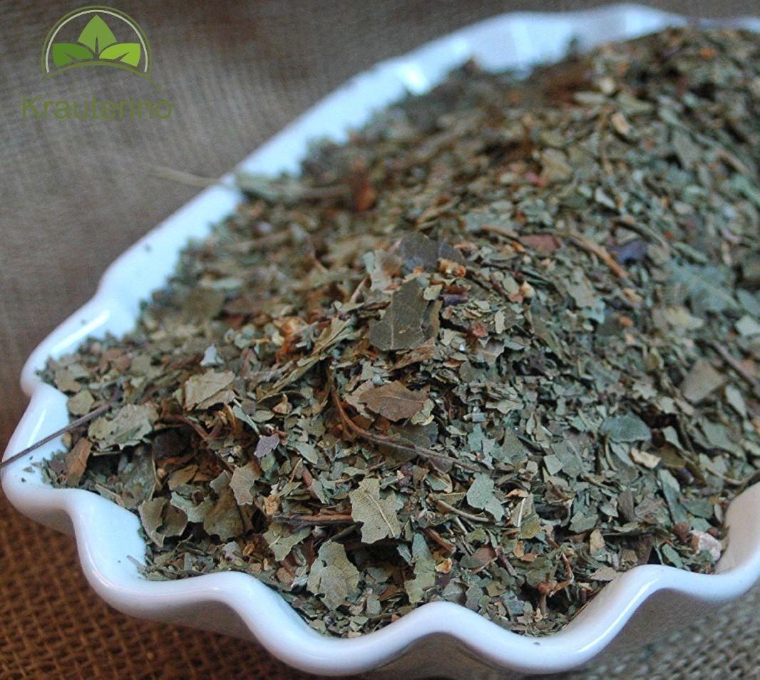 100g-1000g Weißdorntee Weißdornblätter mit Blüte geschnitten Weißdorn Tee