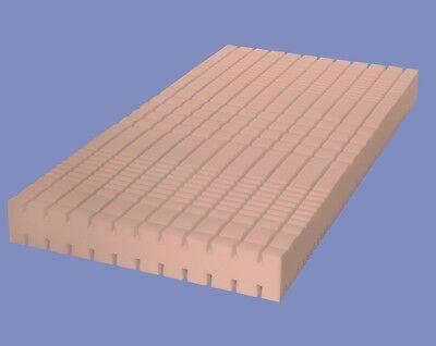 7 Zonen Kaltschaum MATRATZE Höhe 18 + 22 cm Luxus RG 60 3D Würfel Schaum günstig