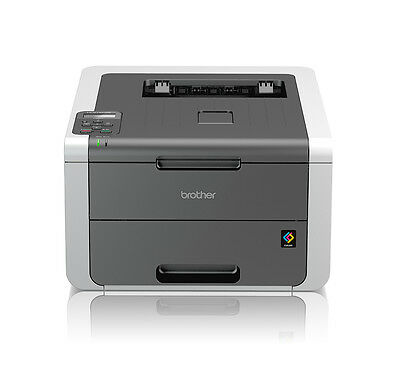 Brother HL-3142CW Farblaserdrucker A4 Drucker WLAN LCD-Display USB iPrint