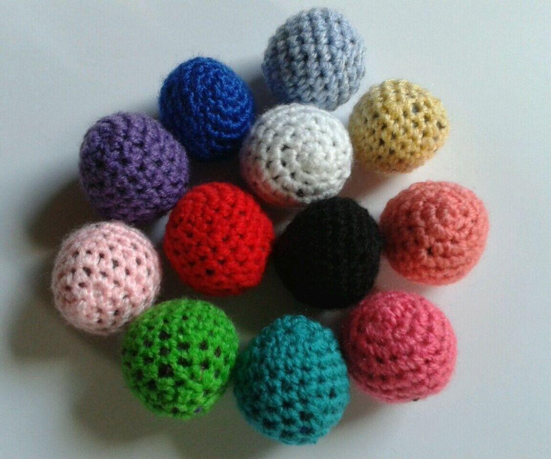 Spielzeug für Katzen, Ball , klein, Katzenminze oder Baldrian, viele Farben, (1)