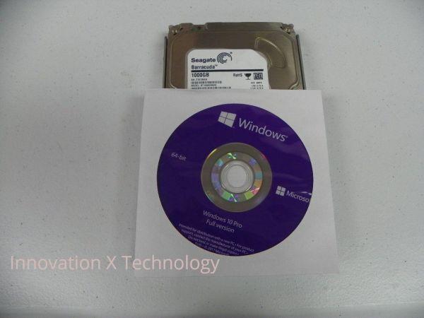 Microsoft Windows 10 Professional PRO 64Bit Full Version DVD with Product Key