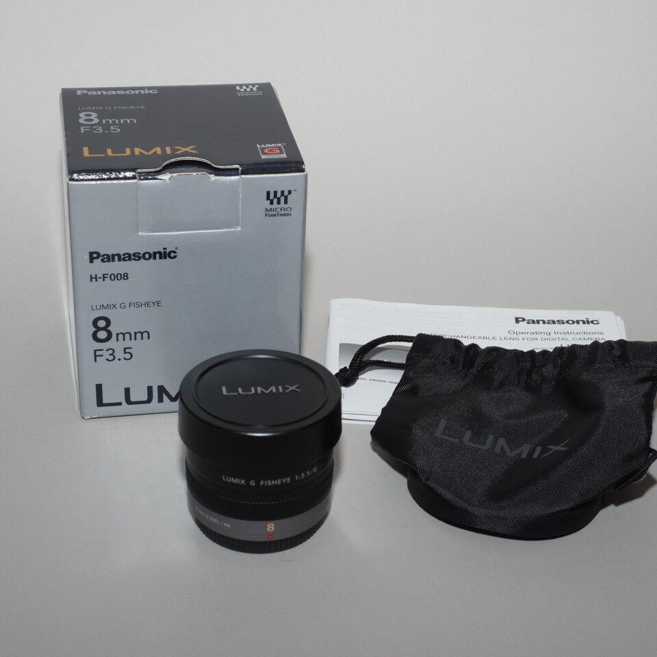 Panasonic 8MM F3.5 Lumix G Fisheye-Objektiv
