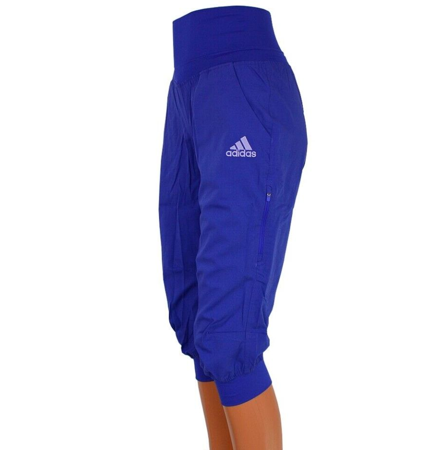 Adidas ED 3/4 Climb Pant Damen Kletterhose Boulder Wanderhose Hose Funktionell