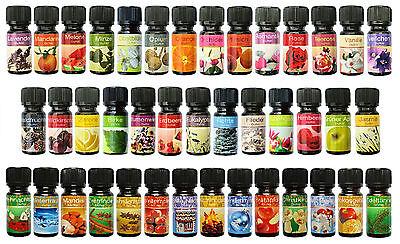8 Duftöle Aromaöle Raumdüfte  ihrer Wahl, wählen Sie aus 44 verschiedenen Ölen