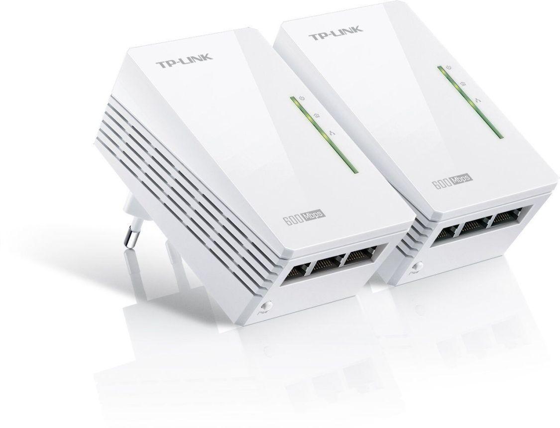 TP-LINK TL-PA6030 KIT 2 x GIGABIT POWERLINE NETZWERKADAPTER mit 3 Gigabit Ports