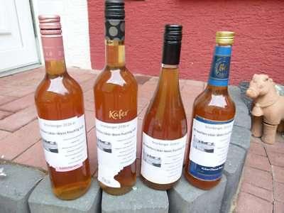 2 x 0,75 l selbstgemachter fruchtig-süßer Mirabellen Likör Wein BIO Fruchtwein