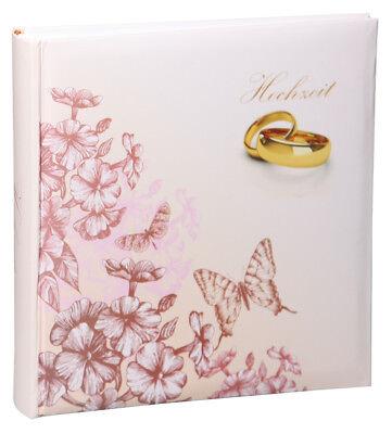 Ringe Hochzeit Fotoalbum in 30x30 cm 100 Seiten Jumbo Hochzeitsalbum Foto Album