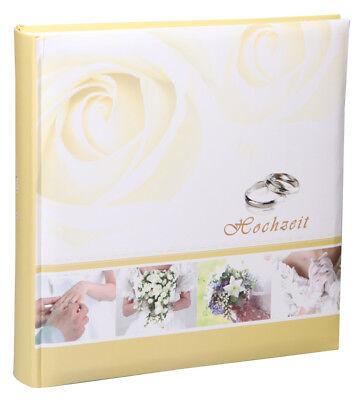 Ringe Hochzeit Fotoalbum in 30x30 cm 100 Seiten Jumbo Foto Album Hochzeitsalbum