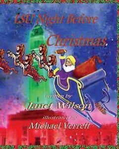 LSU Tigers Night Before Christmas By Janet Wilson Baton