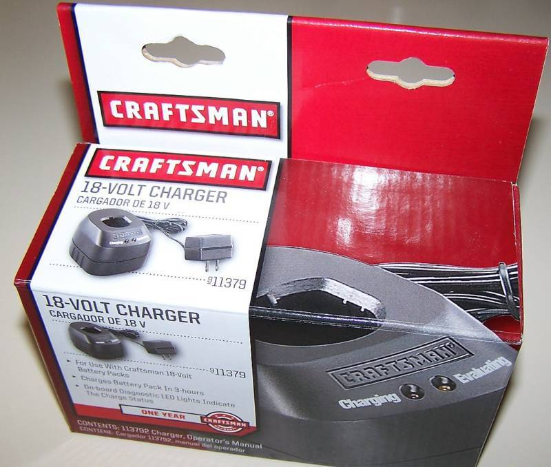 Craftsman Charger Parts