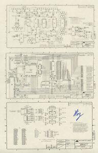Steve Wozniak SIGNED Apple 1 Schematic Diagram *RARE* | eBay