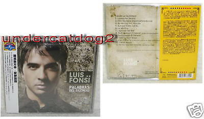 Luis Fonsi Palabras Del Silencio 2009 Taiwan CD w/OBI