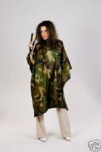 hair stylist salon barber camo camouflage nylon waterproof cape personalized lg