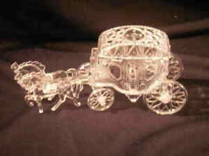 12 Cinderella Coach Wedding carriage  Plastic clear