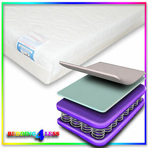 Image Is Loading 400 Size Sprung Spring Cot Bed Mattress Fits