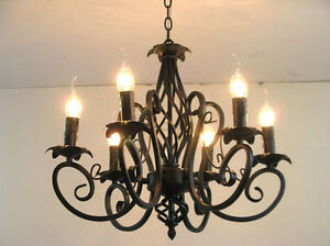 Vintage Beautiful Ceiling Lamp 6 Candle Lights Light