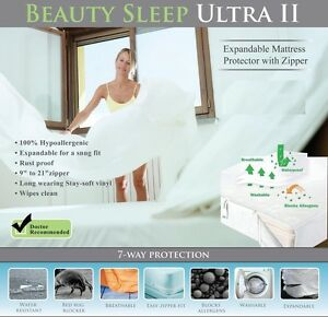 Image Is Loading Bed Bug Mattress Cover Protector Deep Pocket Terry