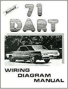 1971 71 DODGE DART WIRING DIAGRAM MANUAL | eBay