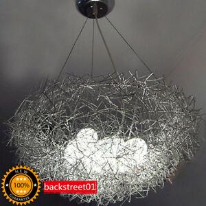 New Aluminum Wire Bird 039 S Nest Chandelier