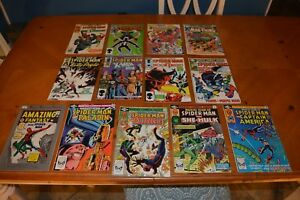 VINTAGE SPIDER-MAN COMIC BOOK'S GREAT FOR READING BY YOU & YOUR CHILDREN LOT C