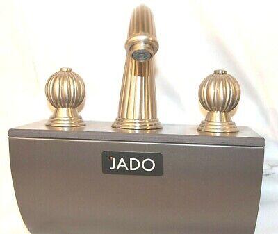 jado faucet bathroom lavatory faucet fluted design satin nickel store display ebay