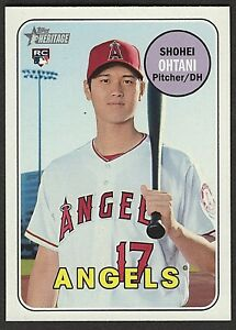 2018Topps Heritage High Number Shohei Ohtani #600 ...