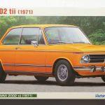 Hasegawa 1 24 Bmw 2002 Tii 1971 Hc 23 Scale Model Kit Ebay