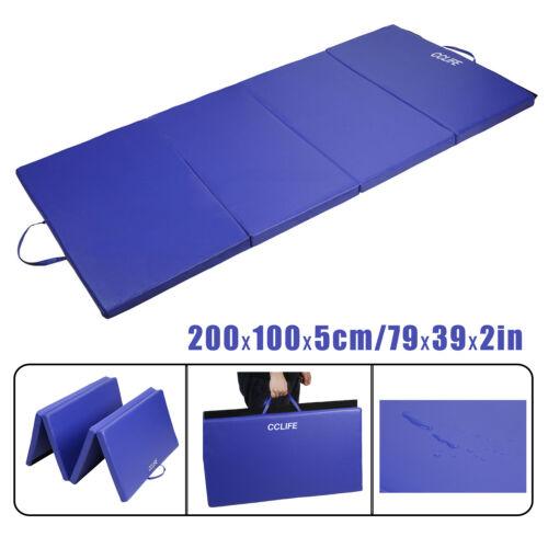 cclife 4 pliable gymnastique tapis tapis de yoga gym exercice entrainement fitness mousse tapis sports vacances fitness athletisme yoga
