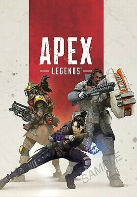 apex legends gaming a3 poster high quality free postage ebay