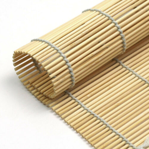 cuisine bambou sushi tapis sushi roller rolling mat ideal pour debutants 9 4 x9 4