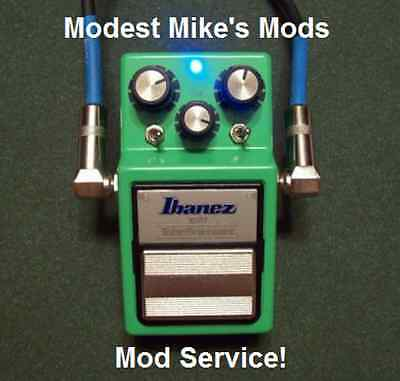 Ibanez Ts9 Or Ts9dx Mod Service Send Us Your Pedal