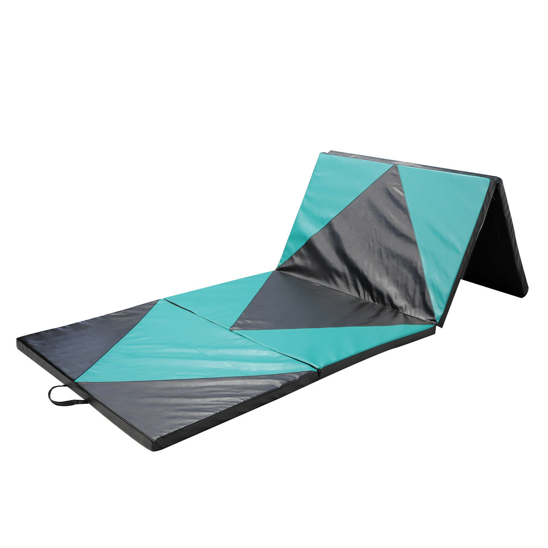 4 X10 X2 Thick Folding Gymnastics Gym Exercise Aerobics