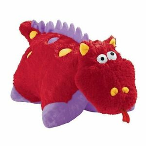 details about red dragon pee wee pillow pet seen on tv new with tags