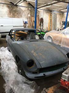 MGB GT classic car project