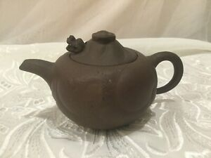 Chinese Clay Yixing Dragon Teapot Moveable Head Dragon Head