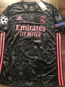 Sergio Ramos Real Madrid Third Kit 2020-2021, Jersey Size ...